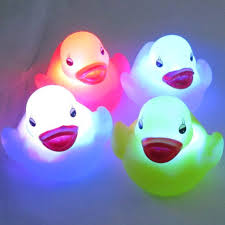 godhl kid u0027s party toy waterproof colour led duck toy in the tub