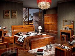 Modern Wooden Bed Furniture Bedroom Furniture Wooden Bedroom Furniture Solid Pine