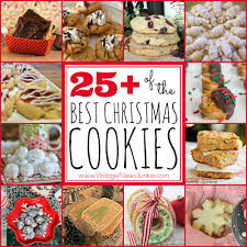25 of the best christmas cookie recipes and a link party