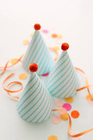 diy party hats with printable julepparty hat template tiny
