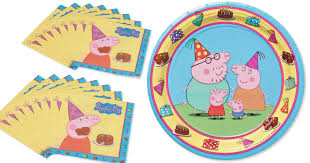 peppa pig party supplies peppa pig fans party supplies as low as 67 on target hip2save