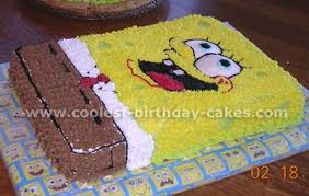 spongebob cake ideas coolest sponge bob cake photos and how to tips sponge bob cake