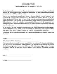 living wills advance directive kansas bar association