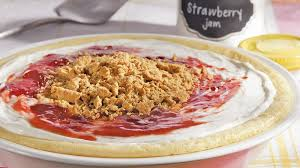 upside down strawberry cheesecake recipe bettycrocker com