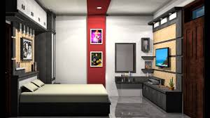 Desain Interior by Design Interior Kamar Tidur Utama Konsep Minimalis Youtube