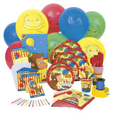 curious george party the official pbs kids shop curious george party standard party kit
