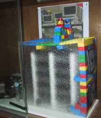 the first google storage was built with legos bauer power media