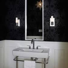 bathroom chair rail ideas black and white bathroom chair rail design ideas