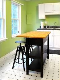 kitchen kitchen island with butcher block top rolling island