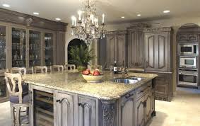Furniture Style Kitchen Cabinets Kitchen Ideas With Chandeliers 1143 Baytownkitchen