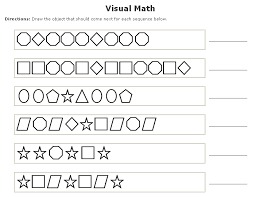 free worksheets pattern sequencing worksheets free math