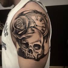 imagenes de calaveras hombres bildresultat för tatuajes para hombres en el hombro y su significado