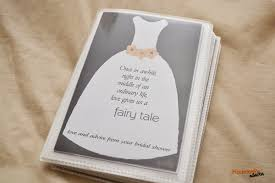 bridal shower photo album a memorable bridal shower gift with free printable