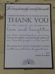 wedding thank you sayings gallery of wedding program thank you