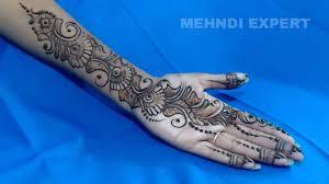 arabic mehndi or henna design 2017 step by step tutorial 3 youtube