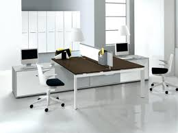 White Modern Desk Chair Office Desk Modern Office Desk Furniture Mesmerizing With