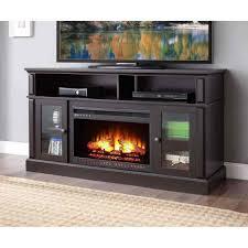 fireplace media console sei narita media console with