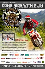 klim motocross gear klim 1st annual cow tag off road ride june 27th dirt rider