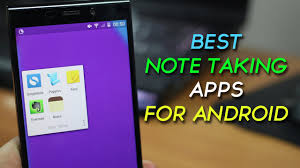 top 5 best note taking apps for android youtube