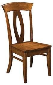 Straight Back Chairs Woodloft Com Locally Amish Made Straight Back Chairs