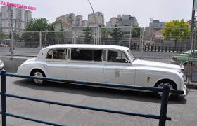 spotted in china the soar automobile rolls royce phantom in white