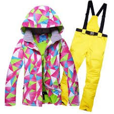 ladies winter outdoor waterproof ski jacket women windbreaker