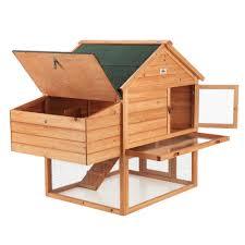 confidence pet 2 story chicken coop hen house ebay