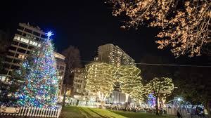 boston common tree lighting 2016 photos