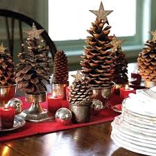 pine cone table decorations pine cone decor add a pop to your tree pine cone table