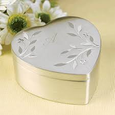jewelry box favors diamond vines jewelry box heart theme wedding favors wedding