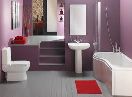 girls bathroom ideas wall mount shelves floating bath sink cream