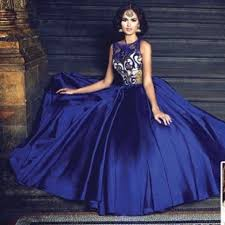 royal blue dresses skirts hp indian royal blue gown w intricate