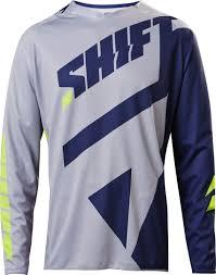 motocross gear nz shift motocross gear nz shift 3lack mainline maglieria grigio