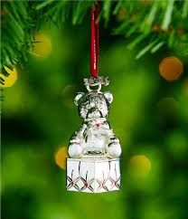waterford 2017 silver baby s ornament dillards