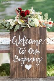 40 best of winter wedding ideas for 2018 wooden wedding signs
