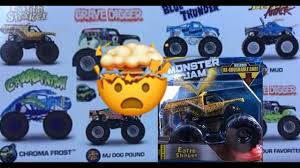 wheel monster jam trucks list 2018 wheels monster jam case a earth shaker youtube