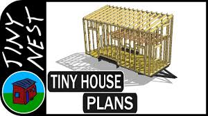 House Plan Guys Tiny House Plans Analyzing The Structure Ep 4 Youtube