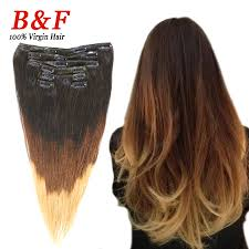real hair extensions clip in real hair extension ombre hair styling 7 pieces