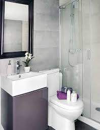 modern small bathrooms ideas modern and minimaist small bathroom with black framed mirror and