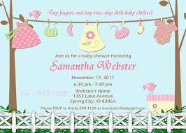 baby shower invitations for girls free eysachsephoto com