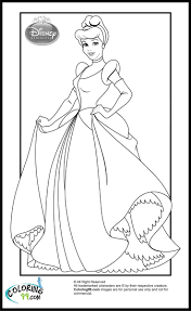 cinderella color pages 43 best princess images on pinterest drawings disney princesses