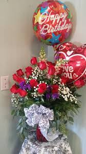 flowers for birthday big birthday delight in augusta ga s floral boutique