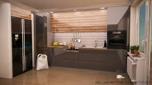 kitchen design in a modern style with acrylic mdf on behance