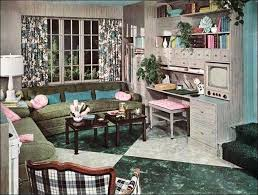 in law apartment 1950 living room design living room gray turquoise mother in law