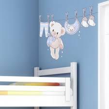 stickers nounours pour chambre bébé sticker ourson naissance garçon inspiration chambre bébé