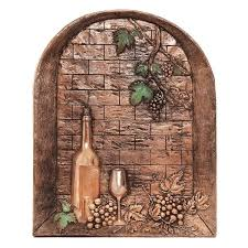 design tuscany window with wine bottle backsplash window with wine bottle mural copper