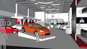 toyota auto dealership toyota al badia dubai car showroom youtube