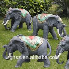 sale garden landscaping resin big elephant ornaments statue