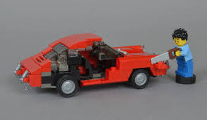 lego toyota take a look at these beautiful lego classic porsche models