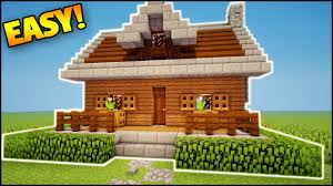 minecraft how to build a small compact survival starter house